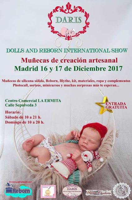 Feria Dolls and Reborn international Show en Madrid