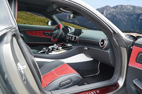 interior Mercedes AMG GT S by Mansory