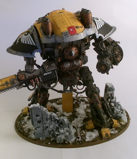 40k Imperial Knight Errant back