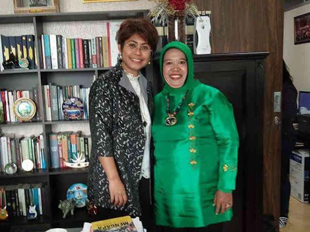 Asisten I Bidang Pemerintahan Sekretariat Daerah (Setda) Kabupaten Kepulauan Aru, Dra Aminah Hasniany Ely, MS.i