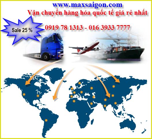 Dịch vụ chuyển phát nhanh quốc tế An toàn nhanh và giá rẻ
