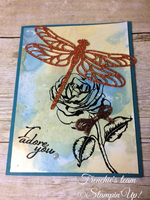 Glossy paper, Graceful Garden, Stampin'Up!