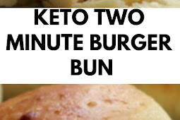 Keto Two Minute Burger Bun