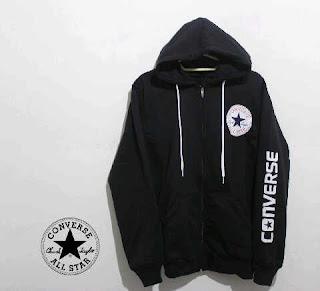 Jaket Fleece Hoodie - Converse CON008