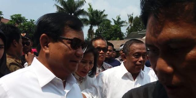 Cerita Prabowo dikenal galak di TNI, tapi tak pernah marahi Djoko Santoso