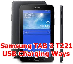 USB Charging Samsung TAB 3 T221
