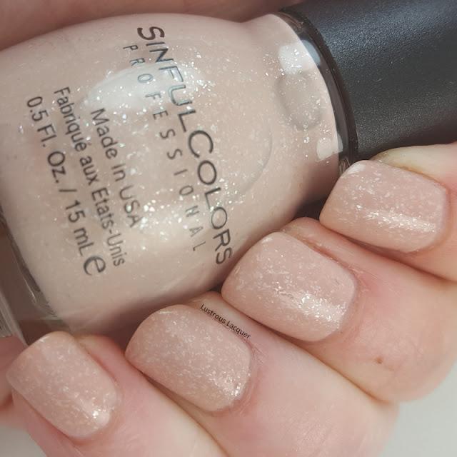 Desert-divas-collection-spring-2017-tan-nail-polish-with flakies