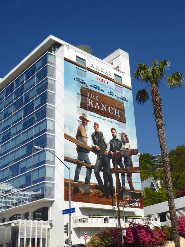 The Ranch giant season 1 billboard