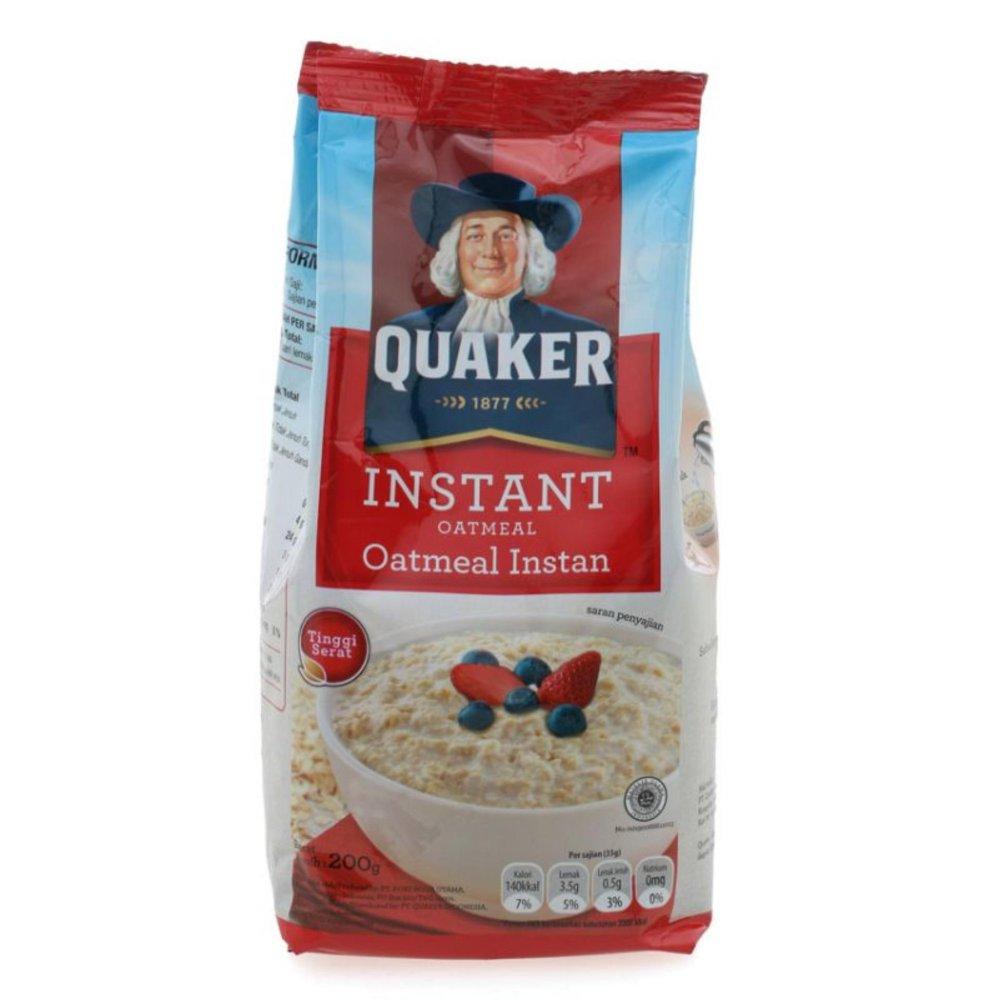 Harga Quaker Oatmeal Terbaru Maret – April 2019
