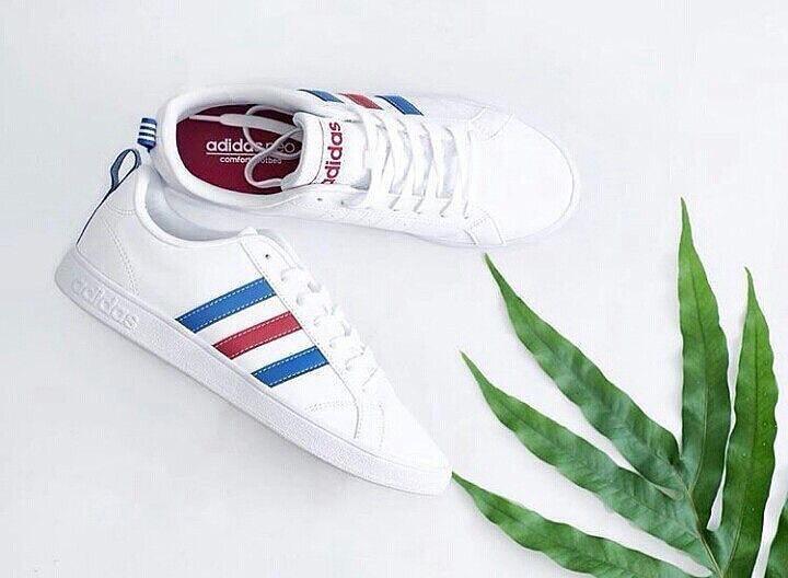 Adidas Neo Advantage Clean - White   France. Jual Sepatu Original ... 1e34a869f0