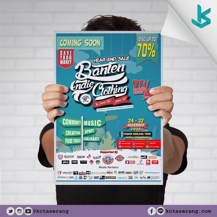 Gambar Poster - Poster Banten Indie Clothing 2015