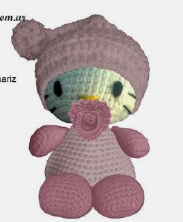 http://www.loraineamigurumis.com.ar/kitty.php#aca