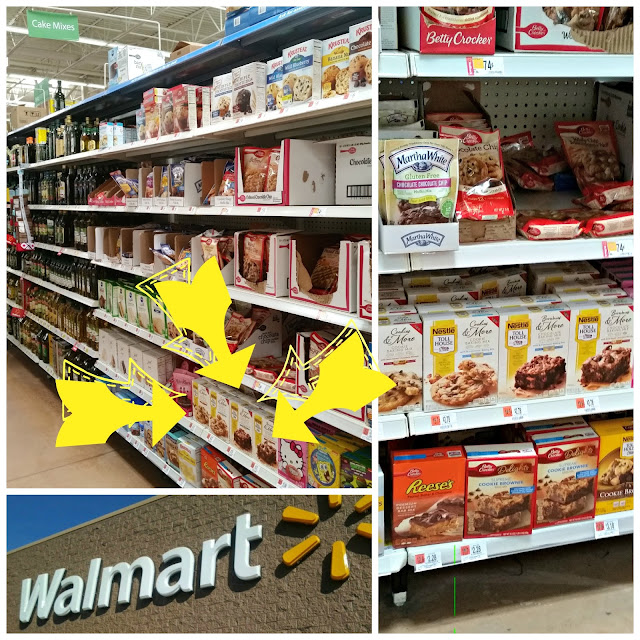 Walmart Nestle Tollhouse Baking Mix Cookies Brownies Butterfinger Chocolate Morsels