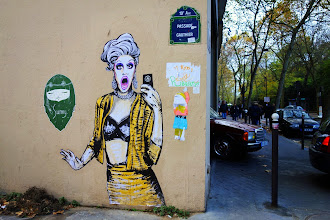 Sunday Street Art : Suriani - Passage Gauthier - Paris 19