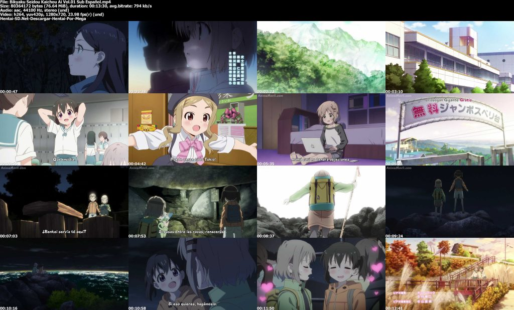 Bikyaku Seidou Kaichou Ai  1/1 HD ligero [Sub Español] [Mega – Mediafire]