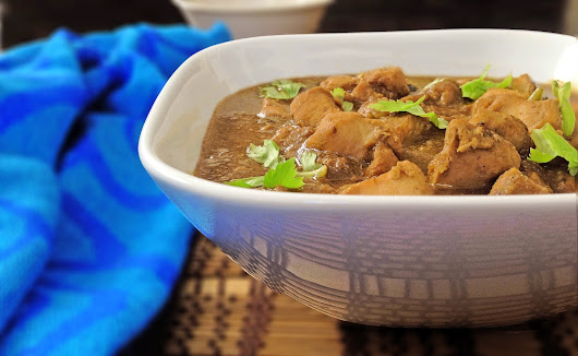 PEPPER CHICKEN GRAVY ~ Sindhoora's Kitchen