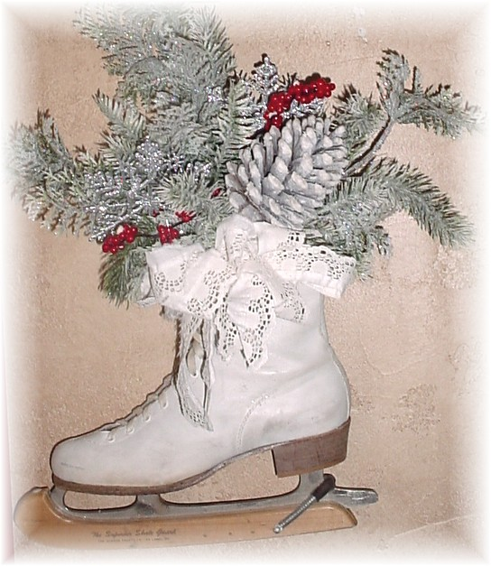 White Trash Christmas Decorations: Trash To Treasure Art: Featured On White Wednesday