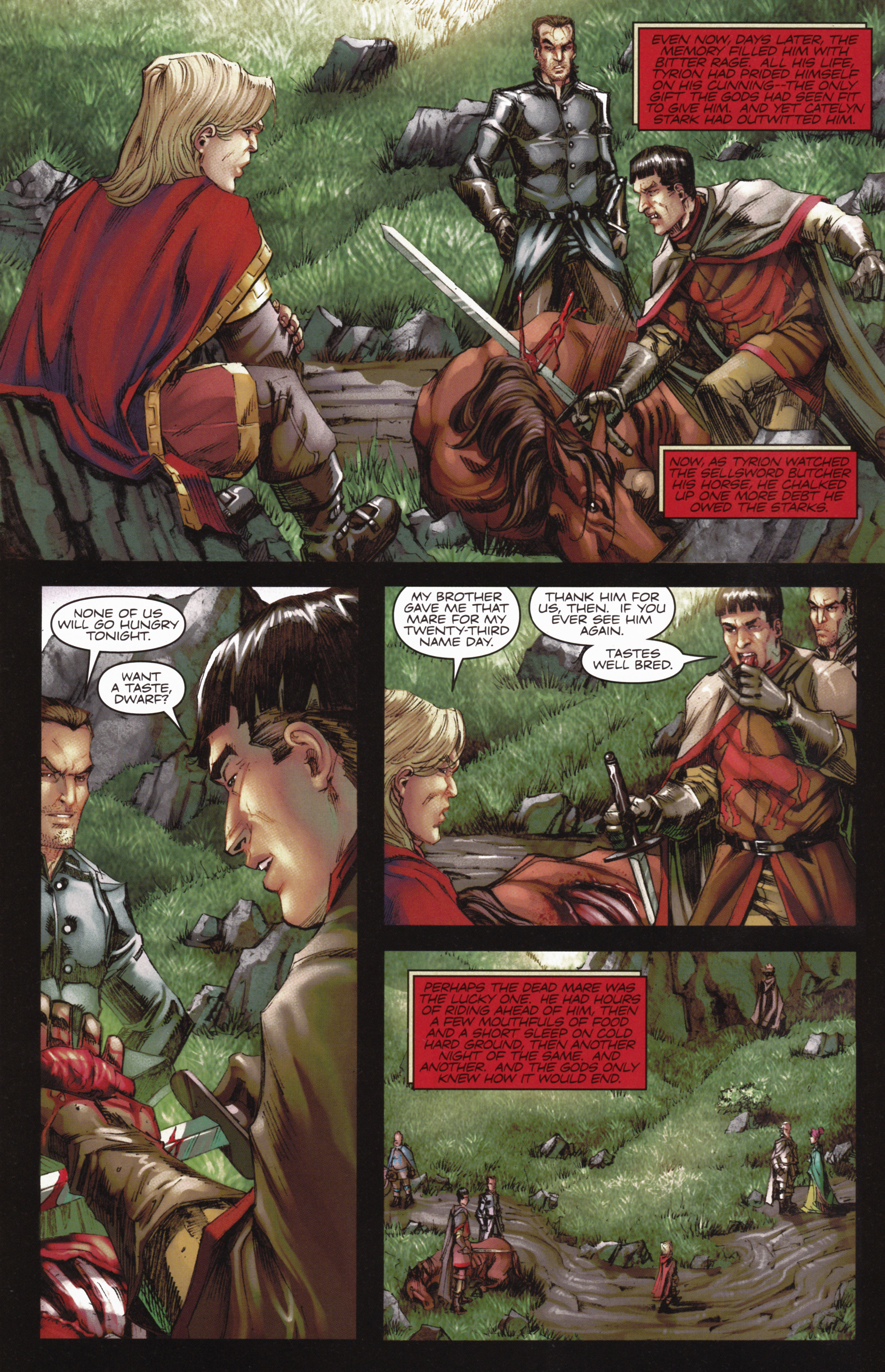 Read online A Game Of Thrones comic -  Issue #10 - 6