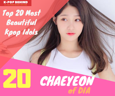Jung Chaeyeon of DIA