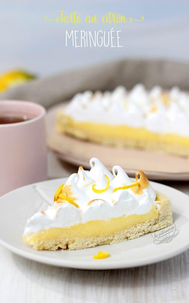 La meilleure tarte au citron meringu e il tait une fois la p tisserie - Recette tarte au citron sans meringue ...