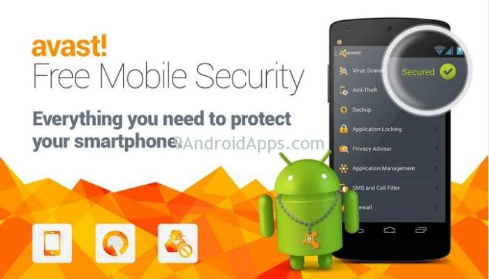 AVAST Antivirus 2018 - Best Android Antivirus