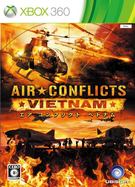 Air Conflicts Vietnam - Xbox 360 - Multi5 - Portada