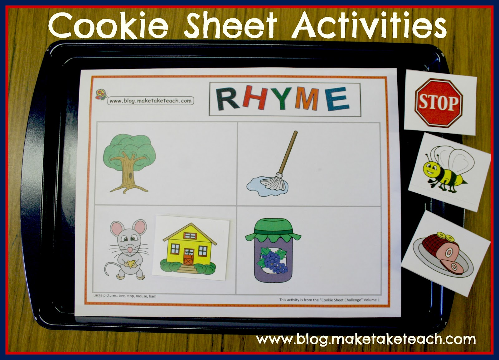 A Fun Center Activity For Learning Rhyme