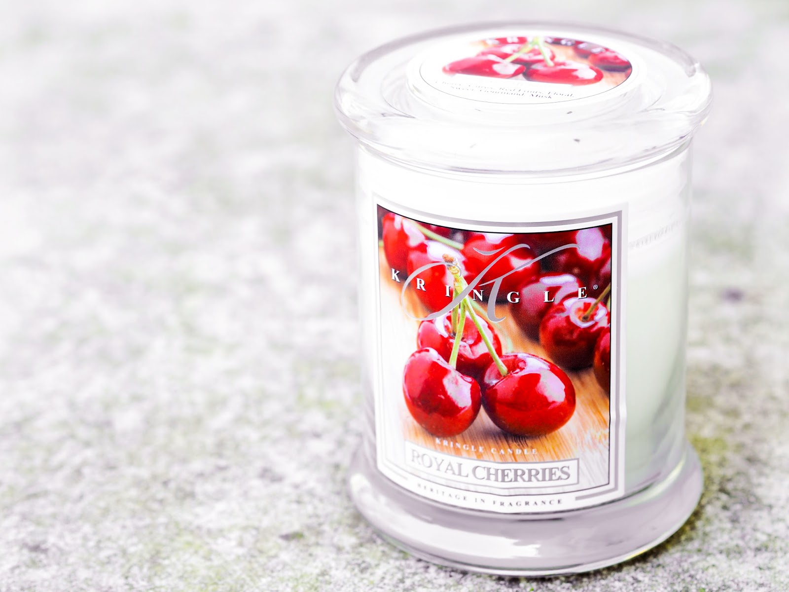 Kringle Candle Royal Cherries Love Aroma
