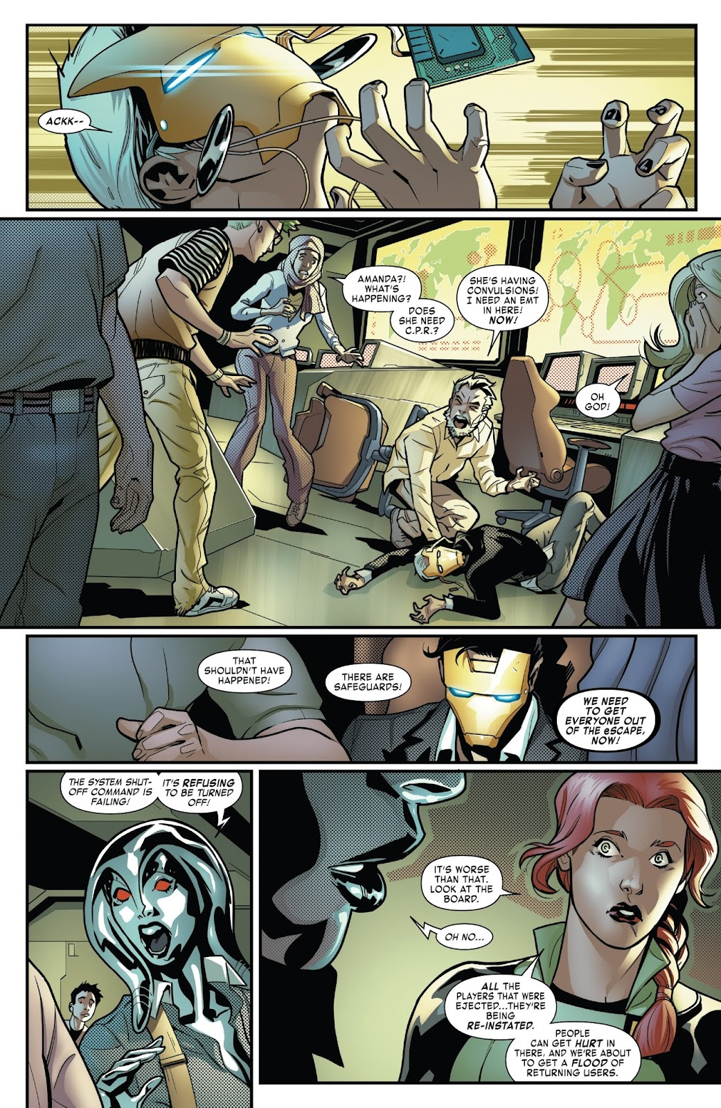 Read online Tony Stark: Iron Man comic -  Issue #6 - 20