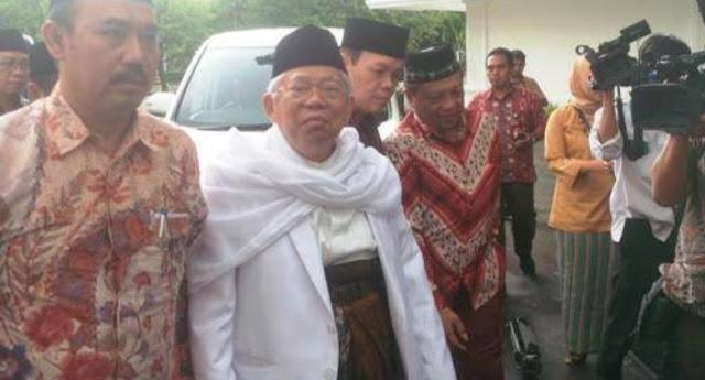 Kiai Ma'ruf Amin Konsolidasi Pemenangan dengan Ulama Madura