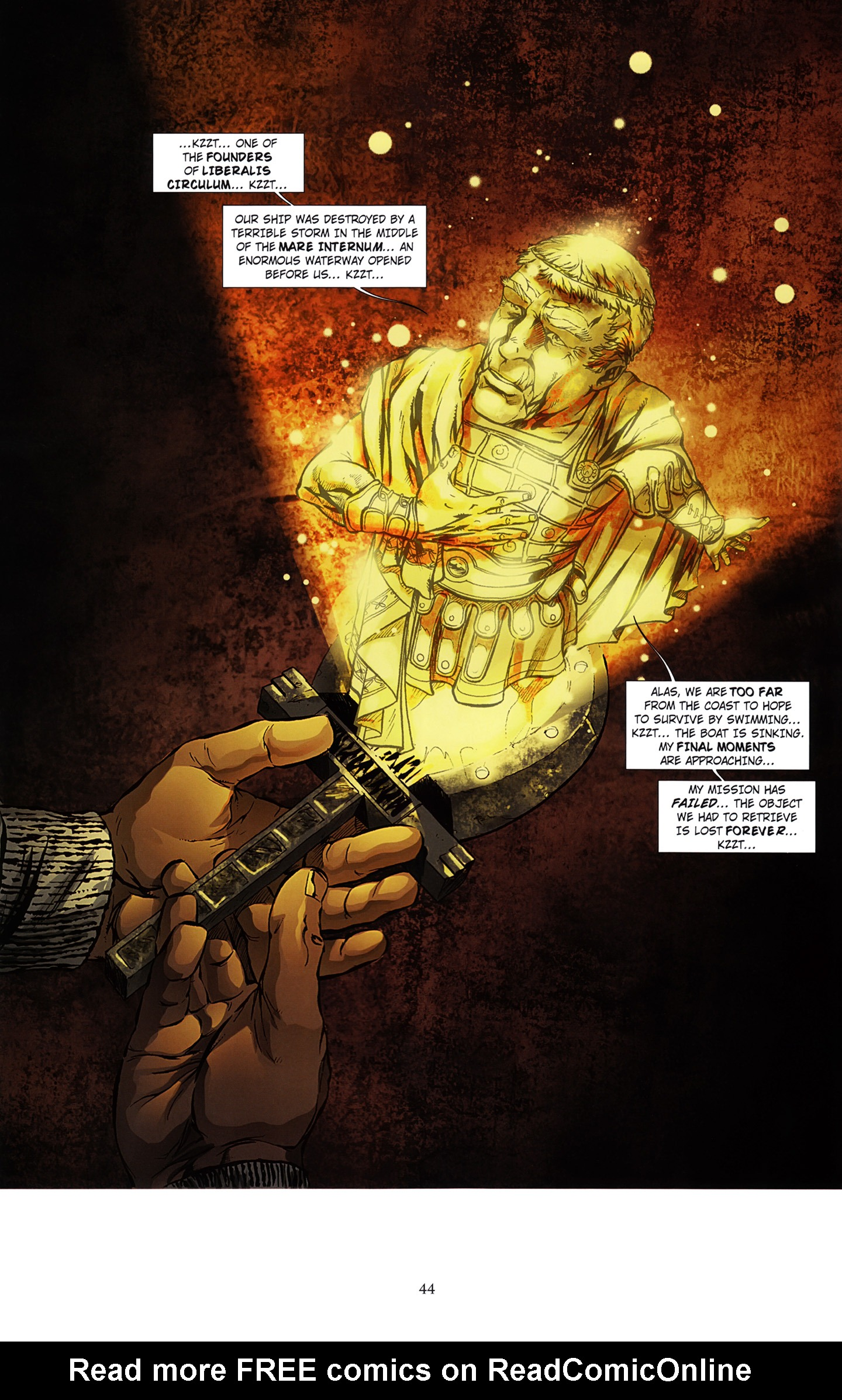 Read online Assassin's Creed (2012) comic -  Issue #3 - 48