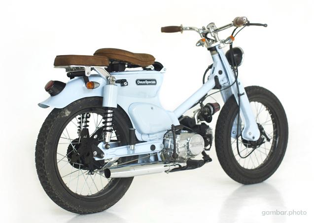 Honda C70 custom