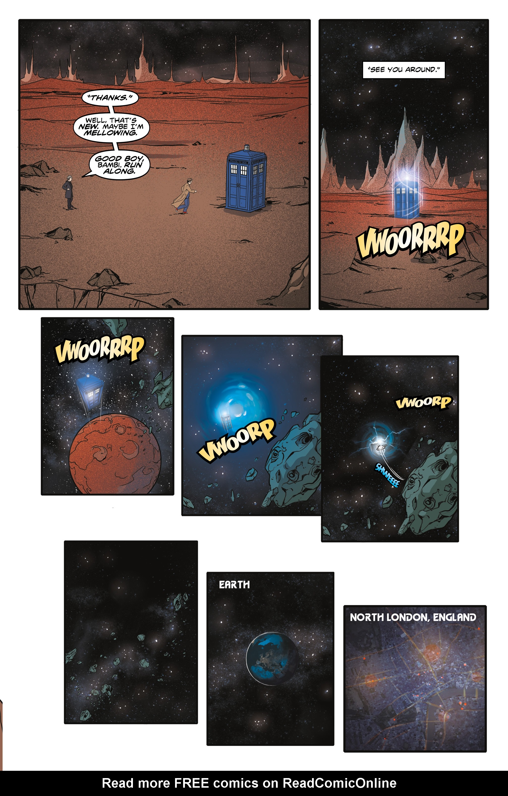 Read online Doctor Who: The Tenth Doctor Year Three comic -  Issue #6 - 24