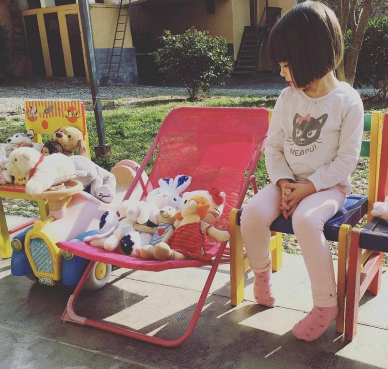 giochi e ricordi di bambina