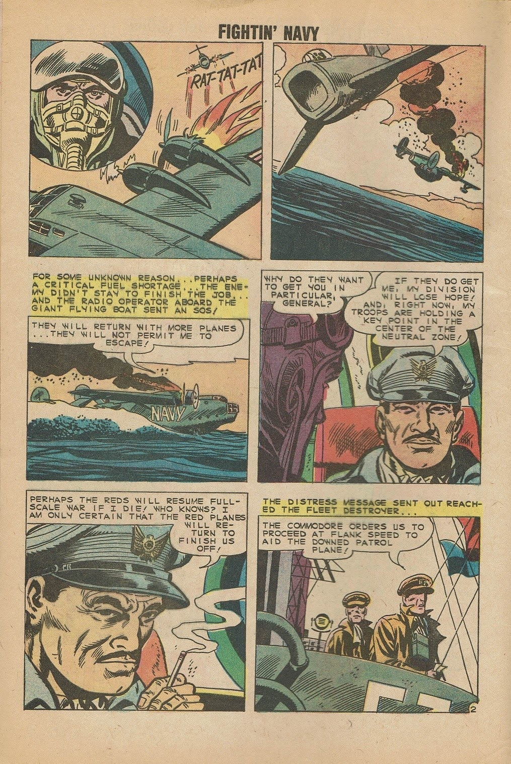 Read online Fightin' Navy comic -  Issue #95 - 4