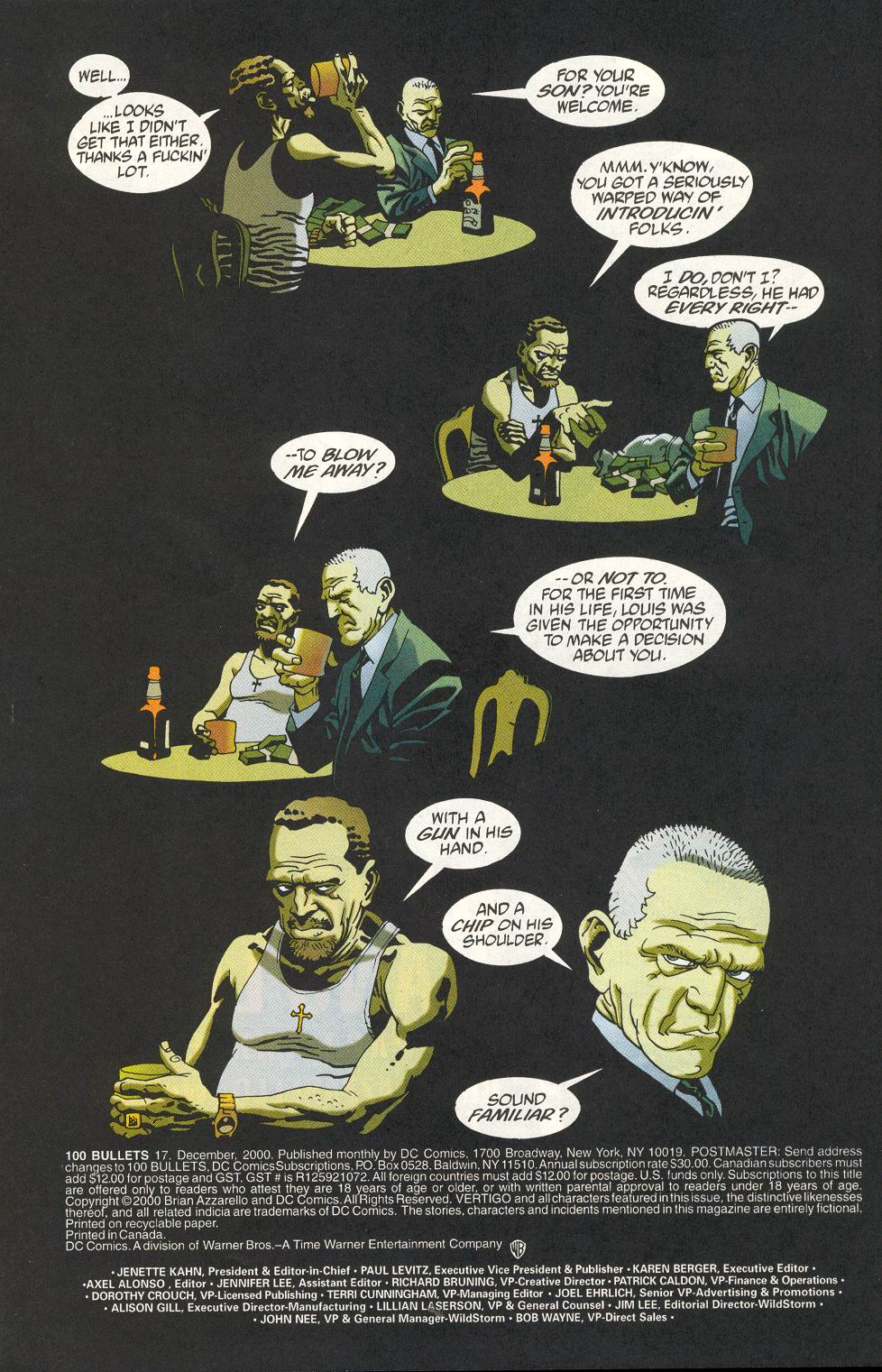 100 Bullets 17 Page 3