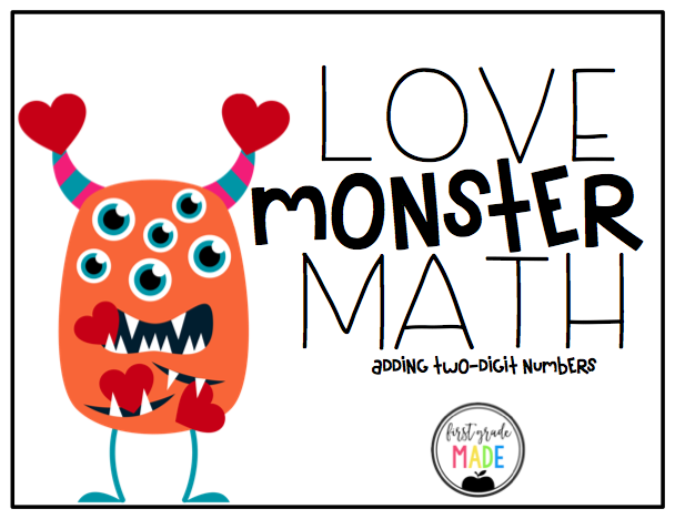 Love Monster Math Center