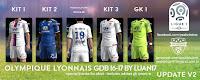 Olympique de Lyon Adidas Kits 2016-2017 Update v2 Pes 2013