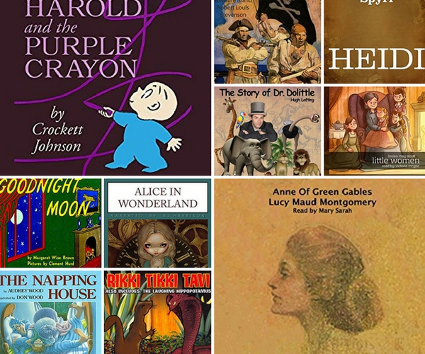 Free and cheap audible books for kids