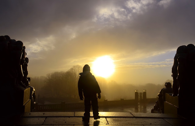ruta de 4 días en Oslo - parque Vigeland