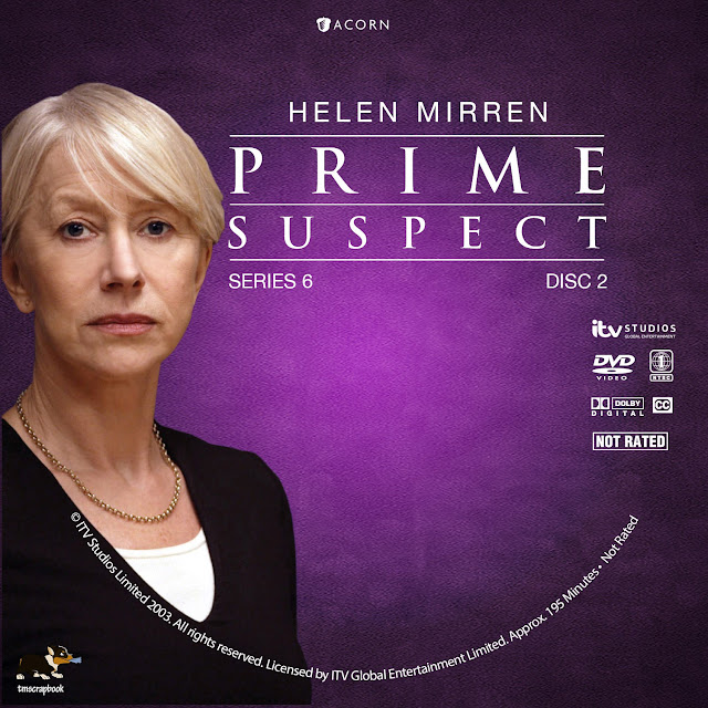 Prime Suspect Season 6 Disc 2 DVD Label