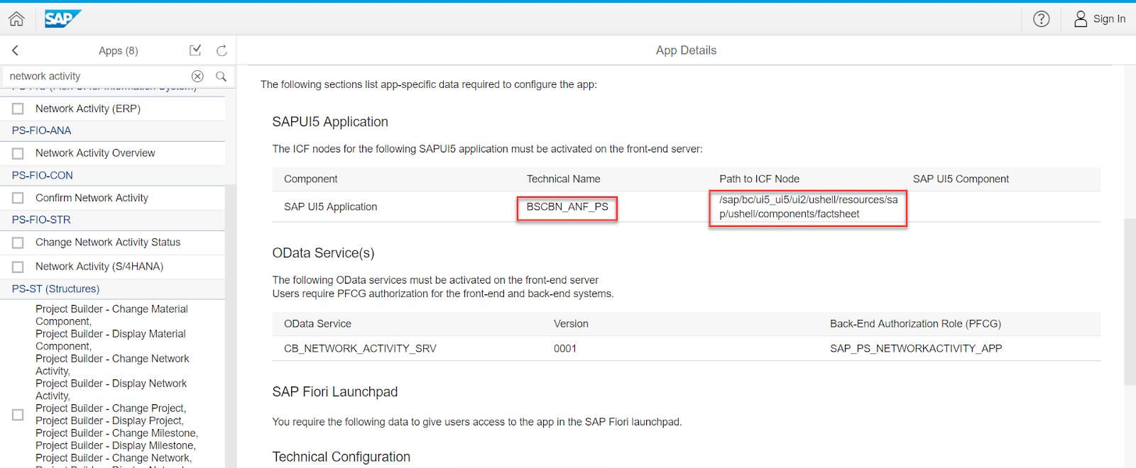 SAP FIORI TUTORIAL: Activation of Fiori Fact Sheet