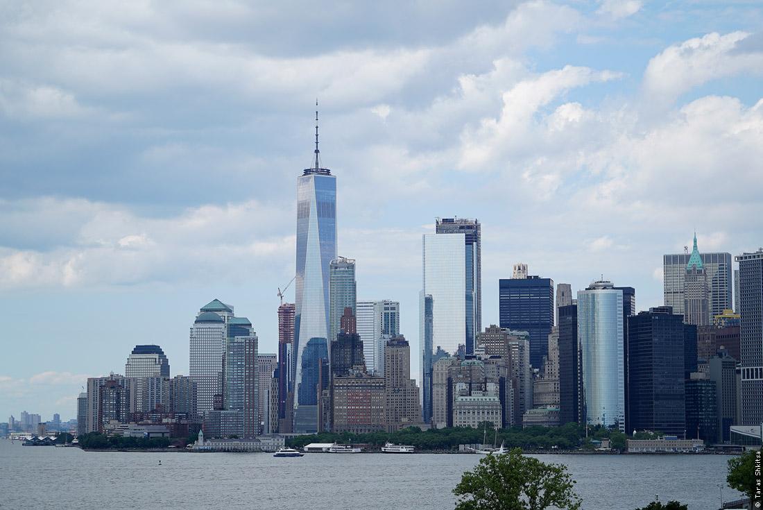Governors Island, Brooklyn, New York. View of Manhattan