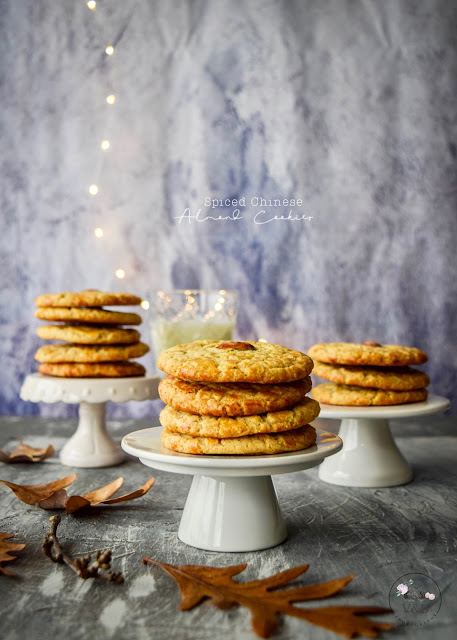 Spiced Chinese Almond Cookies