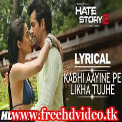 kabhi-aayine-pe lyrics