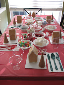 Gingerbread House Decorating Play Date Party