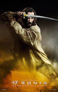47 Ronin - Keanu Reeves poster [click to visit the official website]