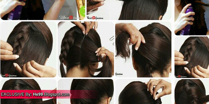 french hair style step by step twist hairstyle step by step b amp g fashion 7325 | French%2BTwist%2BHairstyle%252C%2BStep%2Bby%2BStep%2B%25281%2529