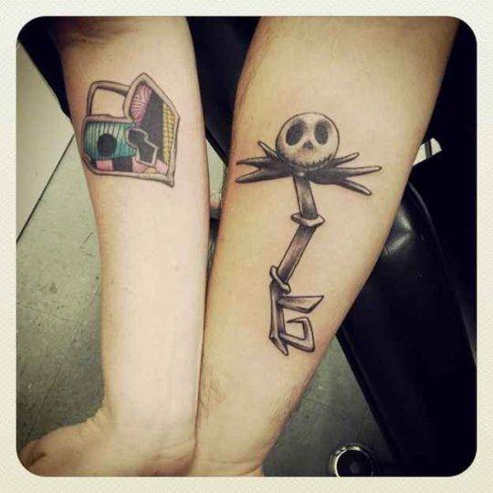 25 So Sweet Couple Tattoos Ideas