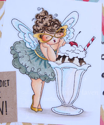 Heather's Hobbie Haven - Edna Loves Ice Cream